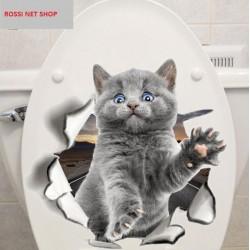 """STENSKA NALEPKA """" KITTY-KITTY """" ( 25*25 cm )"""