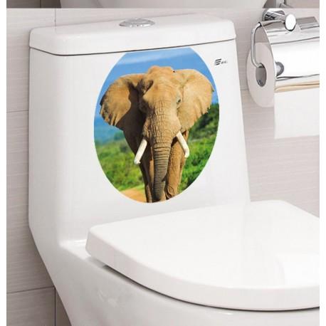 NALEPKA ZA WC-SLON
