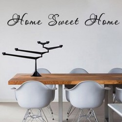 "STENSKA NALEPKA  "" HOME SWEET HOME"""