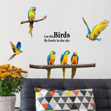 "STENSKA NALEPKA"" LET THE BIRDS FLY"""