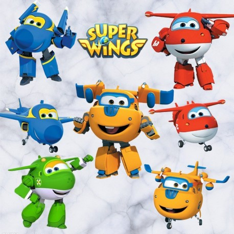 "STENSKA NALEPKA "" SUPER WINGS III """