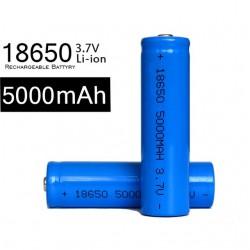 Li ion polnilna baterija 3.7 V,5000 mAh 18650 ( 2 kosa )