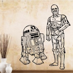"STENSKA NALEPKA "" Star Wars -ROBOT"""
