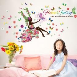 "STENSKA NALEPKA "" FLOWER FAIRY """