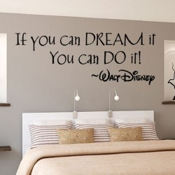 "STENSKA NALEPKA ""If you can dream ,you can do it !  """
