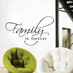 "STENSKA NALEPKA "" FAMILY IS FOREVER"""
